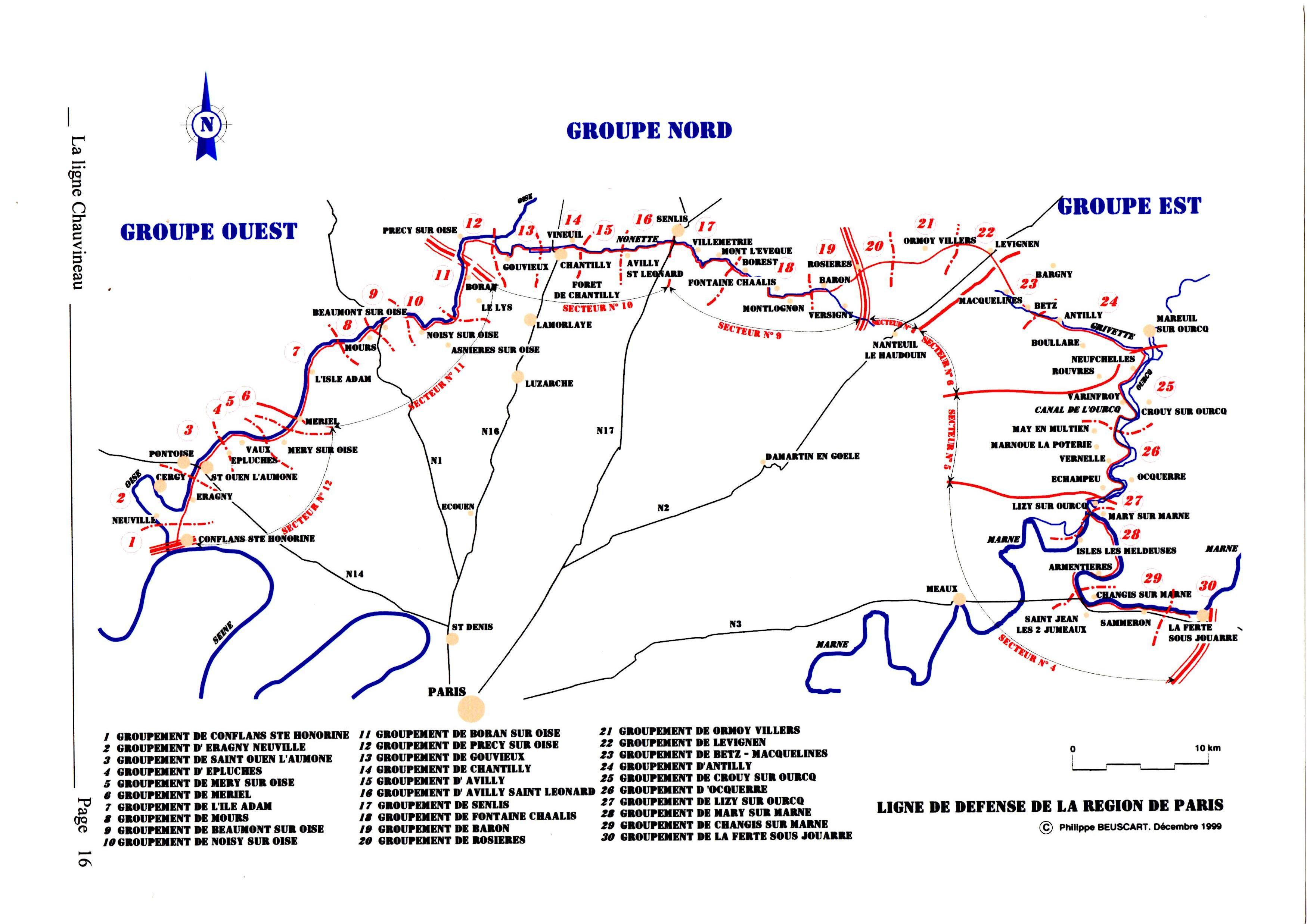 Ligne Chauvineau Cartegene